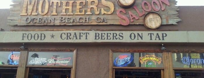 Mother's Saloon is one of San Diego.