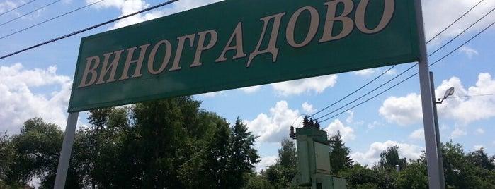 Станция «Виноградово» is one of สถานที่ที่ Dor ถูกใจ.