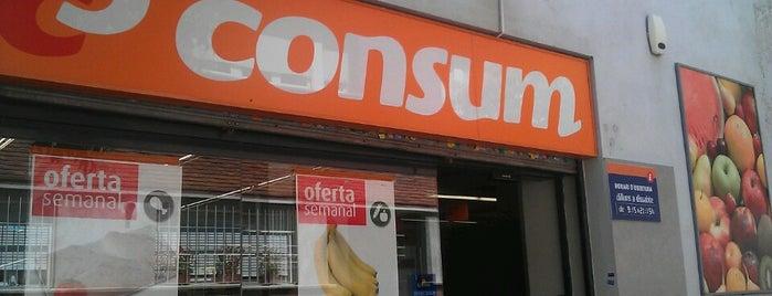 Consum is one of Lugares favoritos de Foreveril.