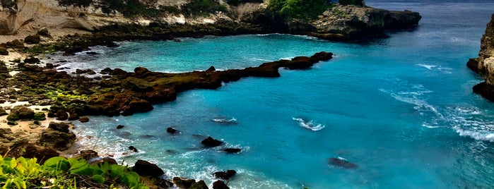 Blue Lagoon, Nusa Ceningan is one of Nusa Lembongan.