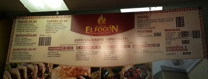 El Fogon is one of Want to Try.