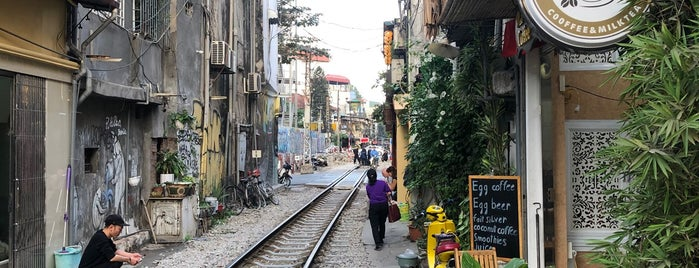 The Railway Cafe is one of Hanoi.