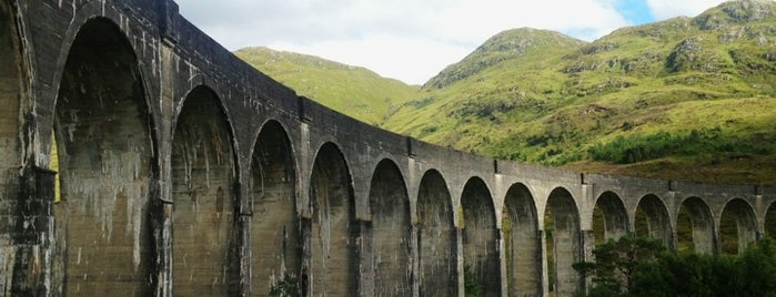 Glenfinnan Viaduct / Harry Potter's Bridge is one of UK Film Locations.