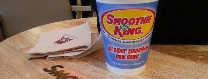 Smoothie King is one of Amanda : понравившиеся места.