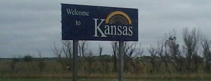 Kansas / Oklahoma State Line is one of Most visited.
