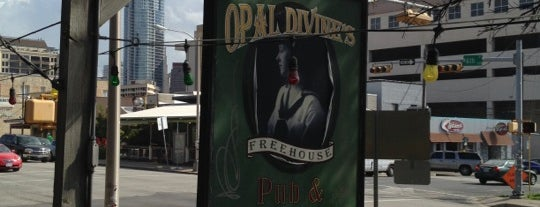 Opal Divine's Freehouse is one of Austin Ghosts.