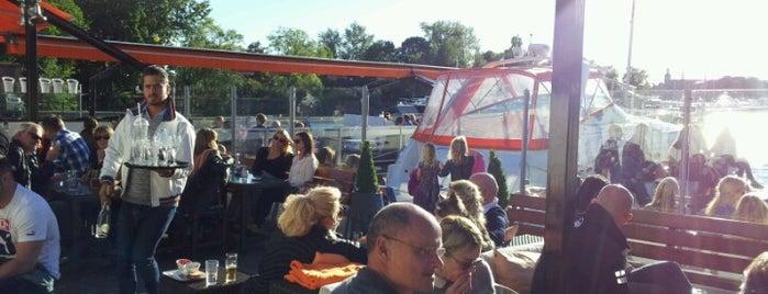 Strandbryggan Sea Club is one of Stockholm City Guide.