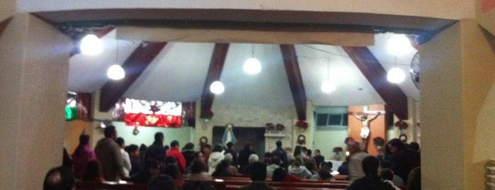 Iglesia De María Madre is one of Posti che sono piaciuti a Karen M..
