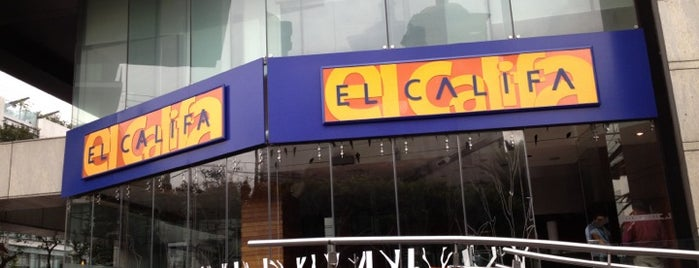El Califa is one of DF Dining.