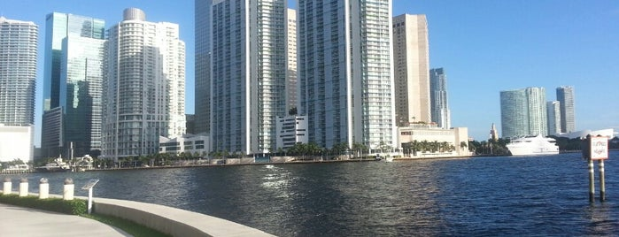 Brickell Key Jogging Trail is one of USA Miami.