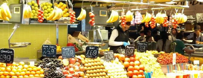 Mercat de Sant Josep - La Boqueria is one of Barcelona -: Places Worth Going To!.