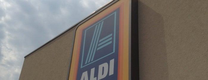 ALDI is one of Orte, die Cindy gefallen.