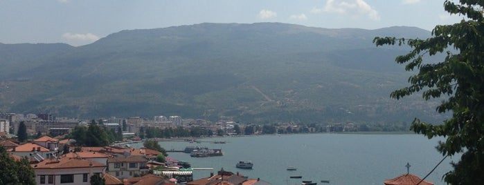 Ohrid Beach is one of ROMANTİK..