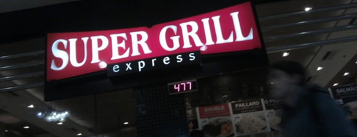 Super Grill Express is one of Lieux qui ont plu à Carla.