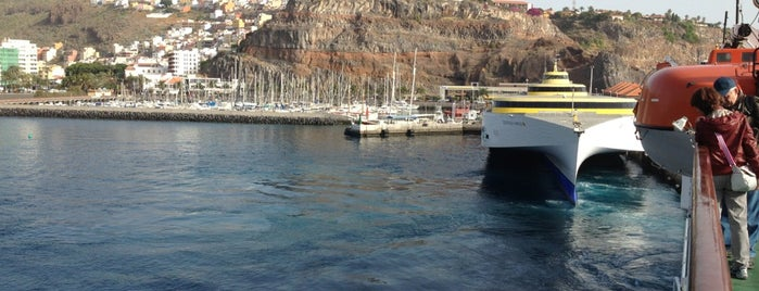 Puerto de San Sebastian de La Gomera is one of Locais curtidos por Evgeny.