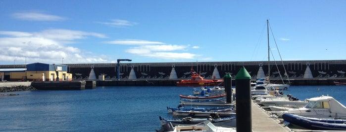 Puerto de La Restinga is one of Locais curtidos por Evgeny.