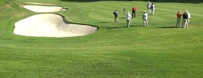 Santa Fe Social Golf Club is one of Tempat yang Disukai Miriam.