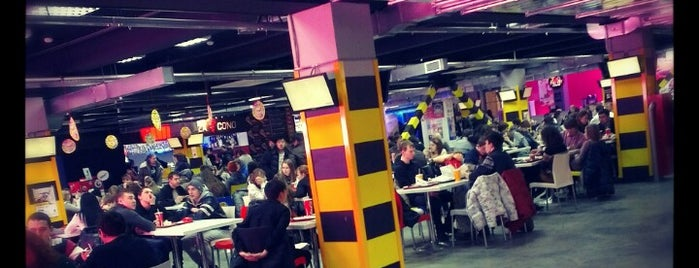 Food court is one of Russia Fun.