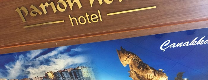 Hotel Parion House is one of Canakkale.
