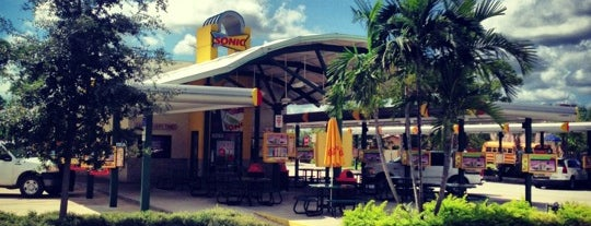 SONIC Drive In is one of Lugares guardados de Beau.