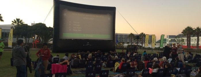 Galileo Open Air Cinema is one of Honeymoon in Cape Town.