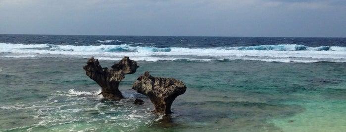 Heart Rock is one of Okinawa.