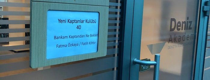 Deniz Akademi DenizBank Genel Müdürlük is one of Lugares favoritos de Onur.