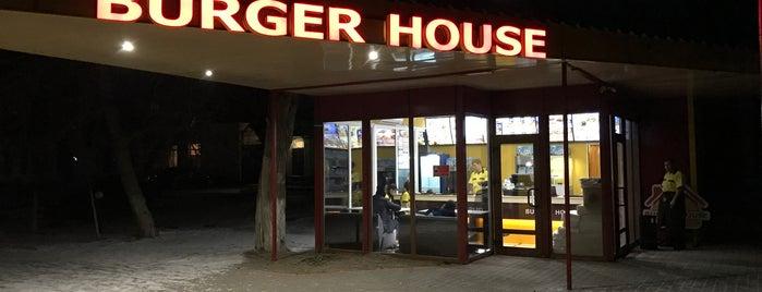 """Геническ """"BurgerHouse"""" is one of Lieux qui ont plu à Виктор."""