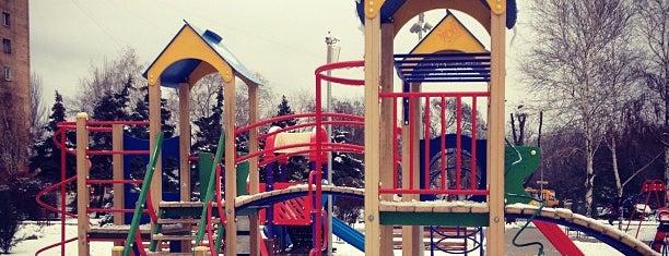 Детский сквер «Лукоморье» is one of Андрей : понравившиеся места.