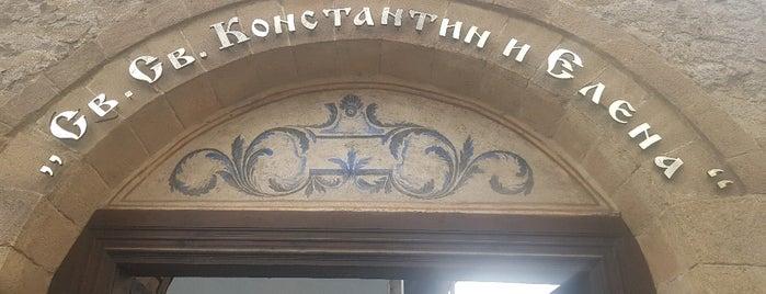 Св.св. Константин и Елена is one of Tempat yang Disukai Carl.
