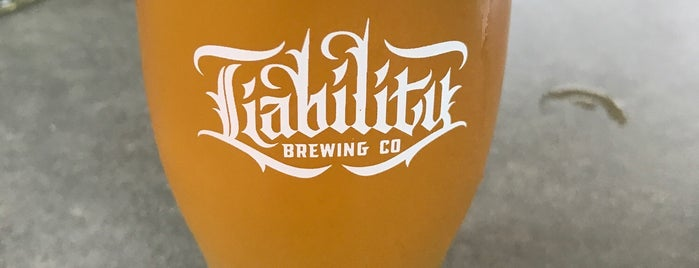 Liability Brewing Company is one of Locais curtidos por Tommy.