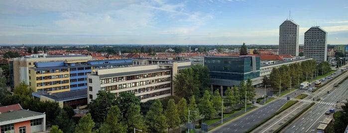 Grunwaldzki Center is one of สถานที่ที่ Lewando ถูกใจ.