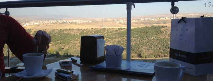 Vadi Teras Cafe is one of Lugares favoritos de Mehmet Nadir.