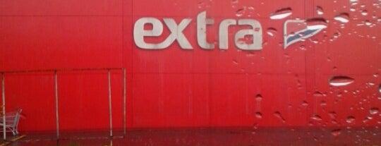 Extra Hipermercado is one of สถานที่ที่ Tuba ถูกใจ.