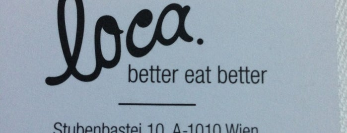 loca. is one of Vienna to do.
