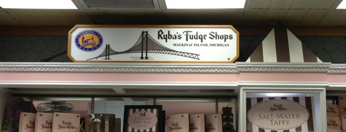 Ryba's Fudge Shop is one of Be a Slave to Your Sweet Tooth.