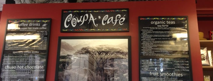 Coupa Café at Green Library is one of Kevin 님이 좋아한 장소.