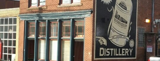Old 4th Distillery is one of ATL eats and drinks.