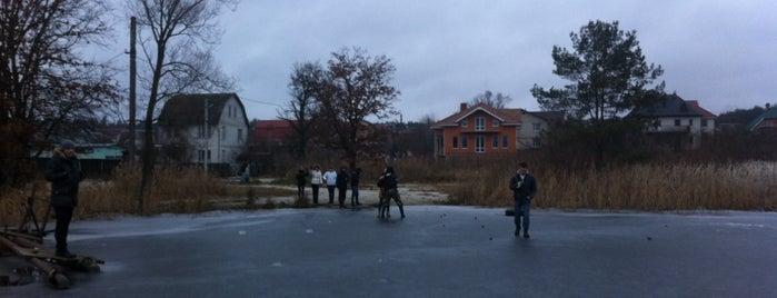 Бучанське водосховище is one of Posti che sono piaciuti a Vera.