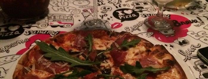 Brava Pizza & Espuma is one of Lugares guardados de Burcu.