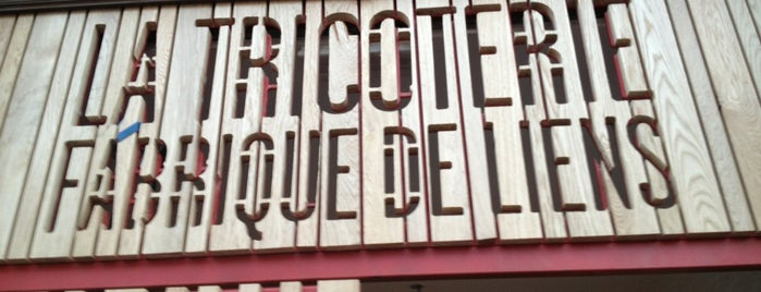 La Tricoterie - Fabrique de Liens is one of Kids friendly.