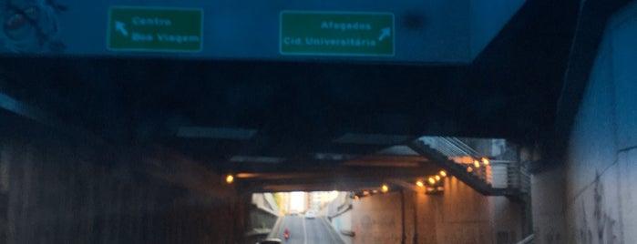 Túnel da Abolição is one of Pontos de localização.