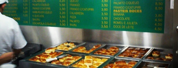 Pastelaria Brasileira is one of Posti salvati di Giordani.