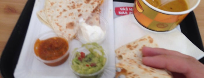 Burrito Loco is one of Tempat yang Disukai Antonin.