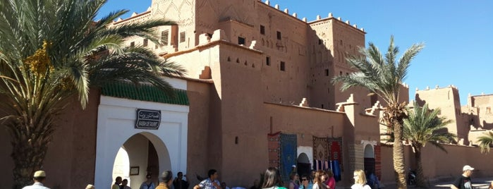 Kasbah de Taourirt is one of Morocco 🇲🇦.