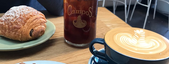 Campos Coffee is one of SLC / Park City ❄️.