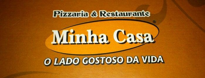 Minha Casa Pizzaria e Restaurante is one of PELO MUNDO.....