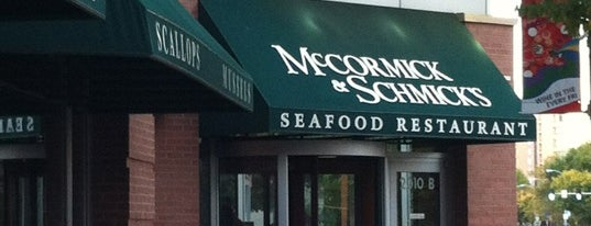 McCormick & Schmick's Seafood & Steak is one of DC.