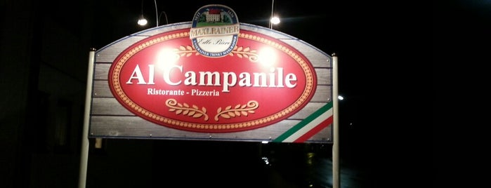 Al Campanile is one of Essen gehen.