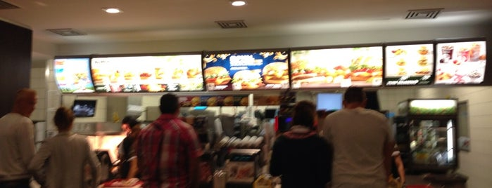 McDonald's is one of Essen gehen.